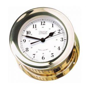 Weems & Plath Atlantis Quartz Ship's Bell Clock