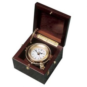 Weems & Plath Gimballed Box Clock