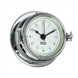 Weems & Plath Endurance II 105 CHROME Quartz Clock