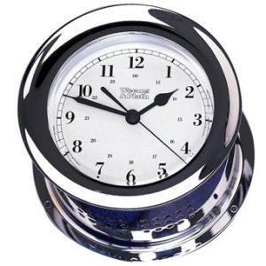 Weems & Plath Chrome Plated Atlantis Quartz Clock