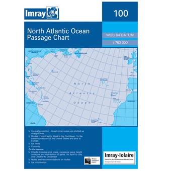 Weems & Plath North Atlantic Ocean+B557 Passage Chart