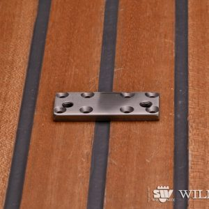 Wilmex Adaptation plate WILMEX  AJC2 10-15 (made of stainless steel)