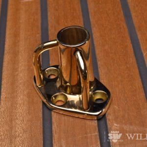 Wilmex Bronze stanchion socket  FS-1