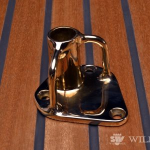 Wilmex Bronze stanchion socket FS-2