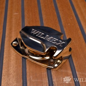 Wilmex Deck blok wit small cleat BP-85K