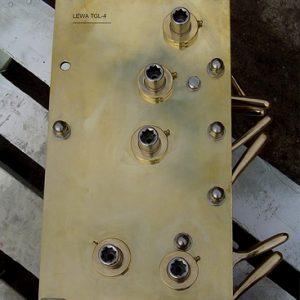 Wilmex Halyard winch traditional TGL-4