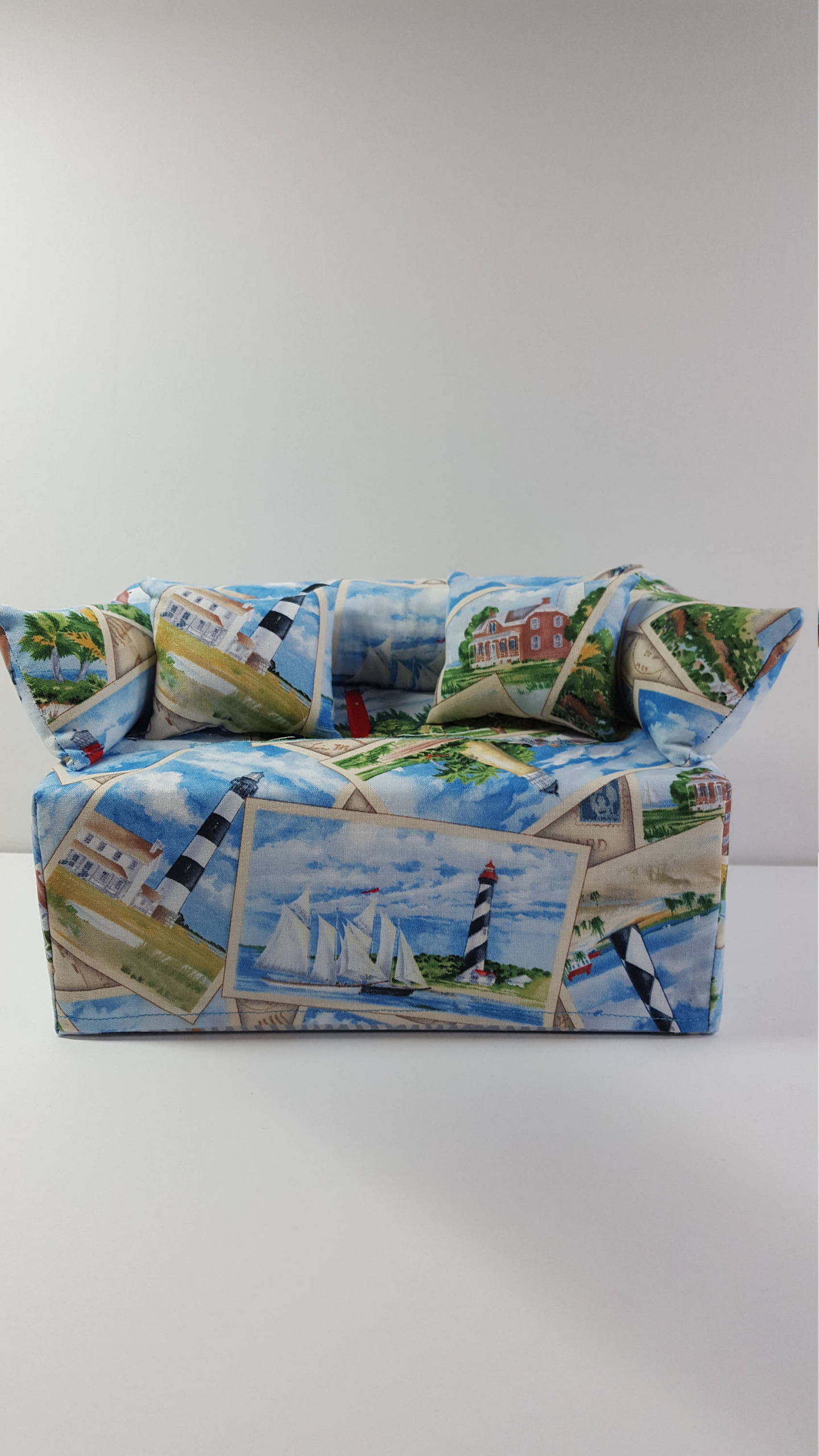 Lighthouse Couch Sofa Tissue Box Cover