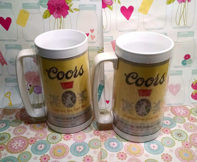 Thermo Serv Vintage COORS BEER Mug