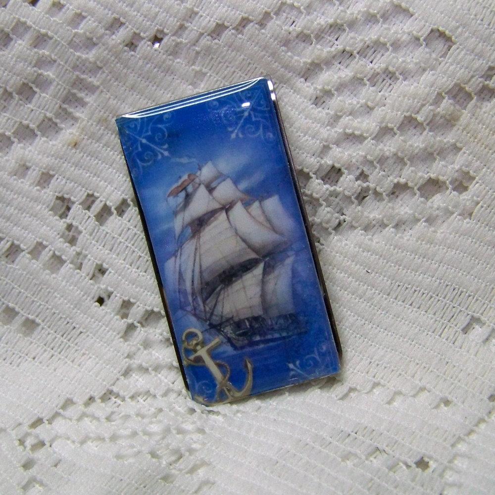 Nautical Sailing Ships Anchor Cufflinks /& Engraved Gift Box