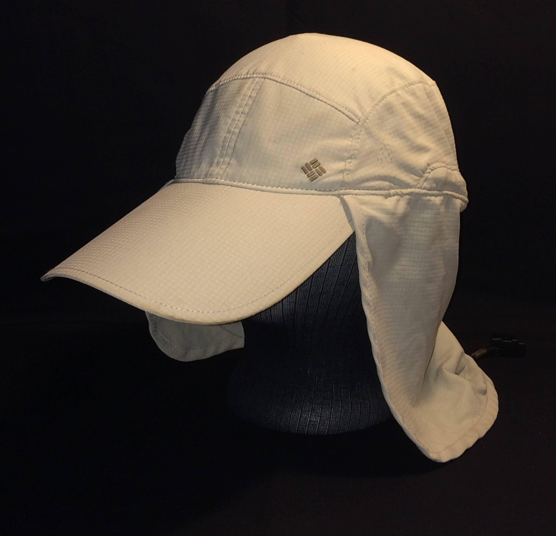 Columbia Sportswear Fishing Hat Fish Hat Mens Fly Fishing Hats Omni Shade  Drawstring Extra Long Visor d83b1e9a00a
