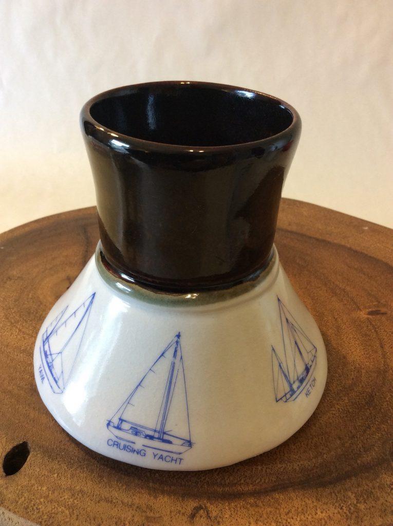 Nautical Mug Sailboat Mug Schooner Chandlery