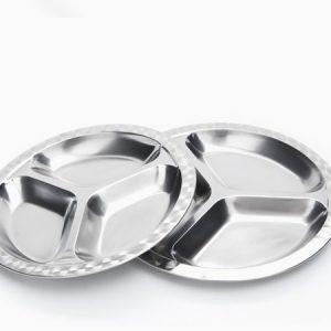 Onyx Small Medium & Large Divided Food Tray