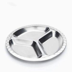 Medium divided food tray