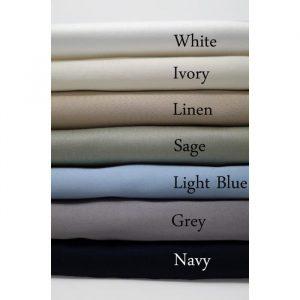 Quahog Bay Bedding - Cotton 600TC CinchFit RV Sheets