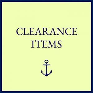 Quahog Bay Bedding - Clearance Universal V Berth Sheets