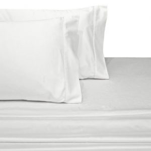 Quahog Bay Bedding - CinchFit Economy Boat Bedding Line - Universal Aft Berth Fitted Sheet Only 300TC White