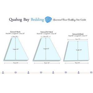 Quahog Bay Bedding - Bamboo 600TC CinchFit Boat Sheets