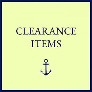 Quahog Bay Bedding - Clearance Misc Boat Bedding Products
