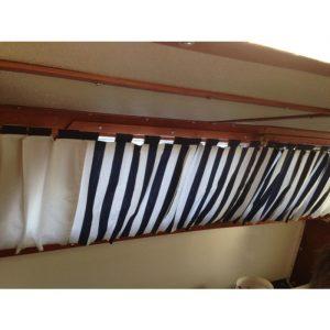 Quahog Bay Bedding - Catalina Boat Curtain Measurements