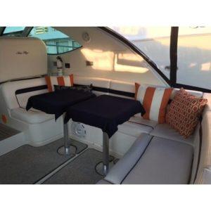 Quahog Bay Bedding - CinchFit Boat Table Linen - Skirted Option
