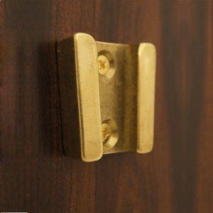 """Weems & Plath Brass Wall Bracket for 6"""", 7"""", 8"""" Bells #6000, 7000, 8000"""