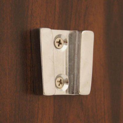 "Weems & Plath Chrome Wall Bracket for 6"", 7"", 8"" Bells #6000C, 7000C, 8000C"