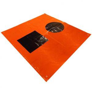 Weems & Plath Orange Distress Flag USCG Approved