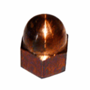 Hex Silicon Bronze Cap Nuts